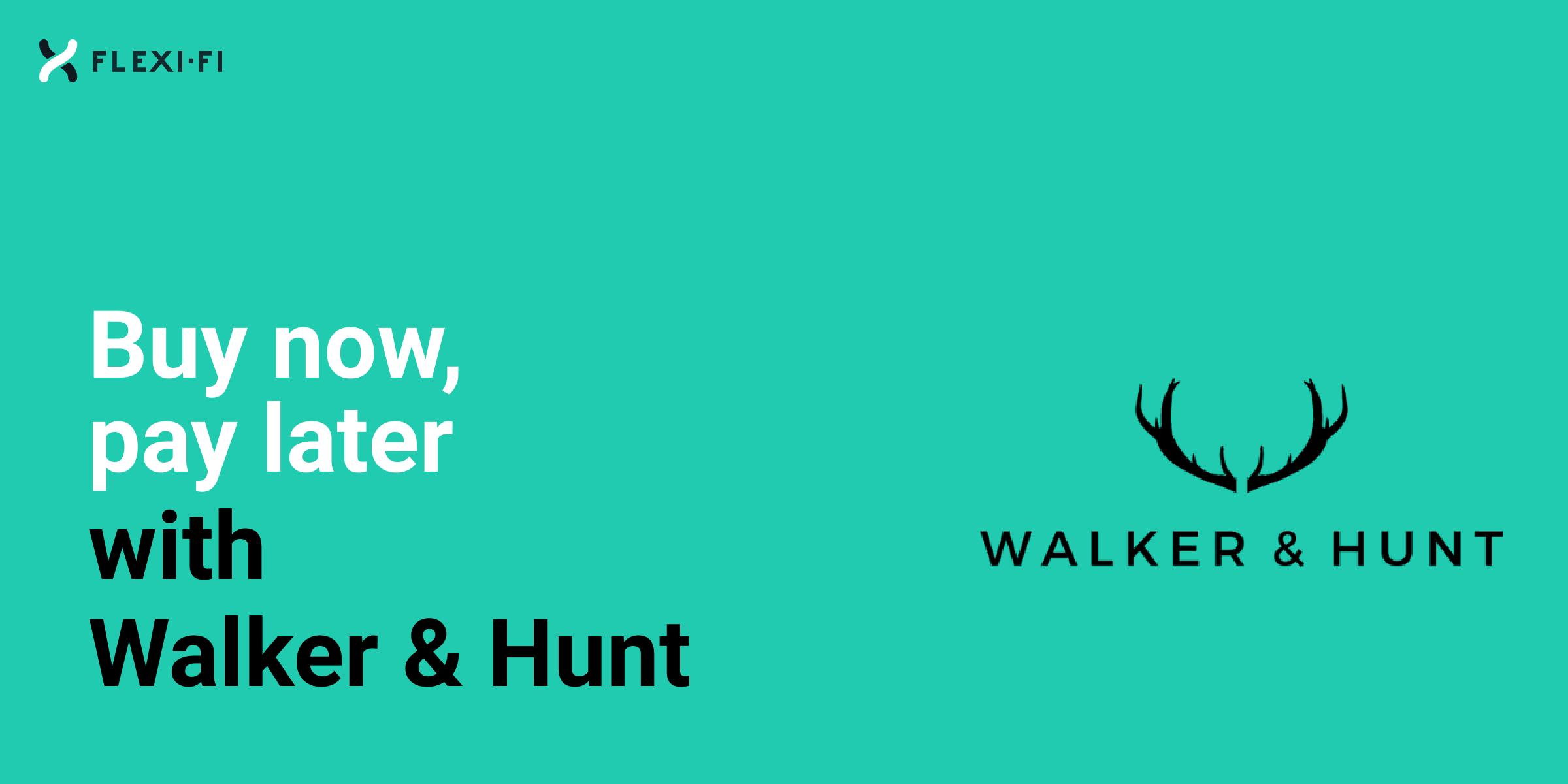 Retailer Walker Hunt
